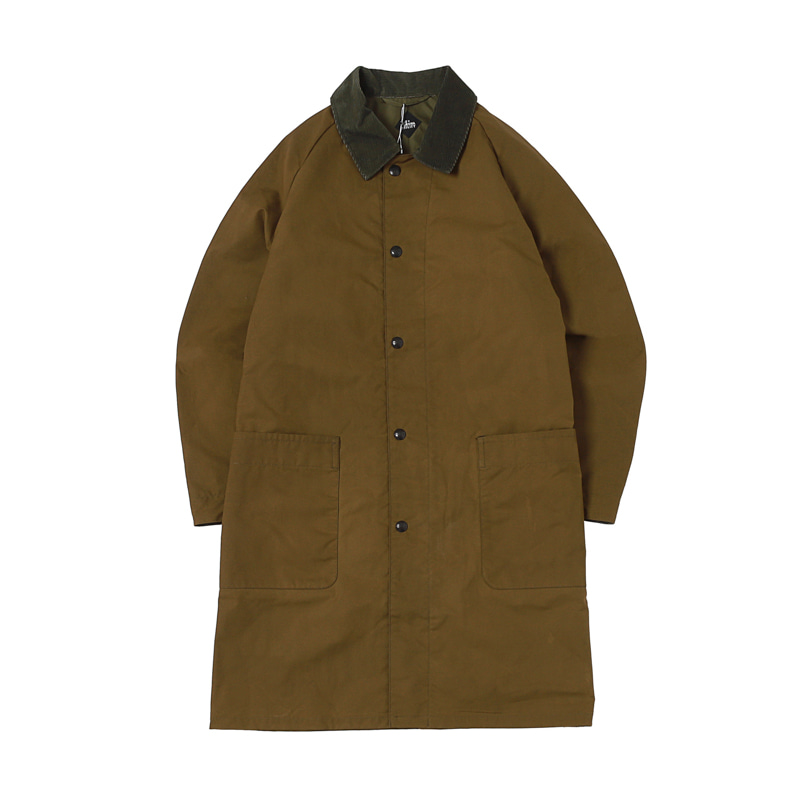 UP DUSTER COAT - OLIVE
