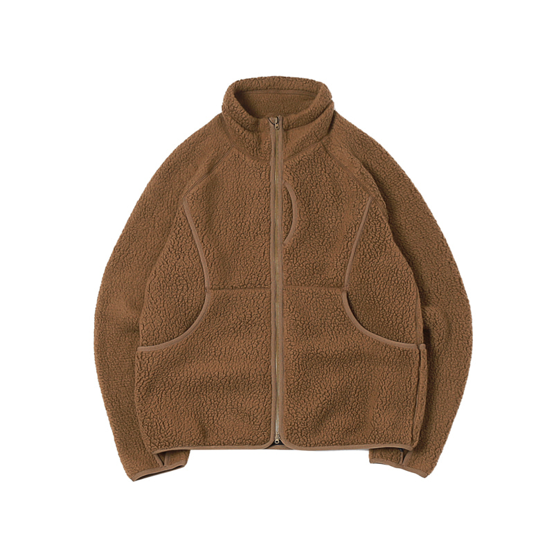 CLASSIC FLEECE JACKET - KHAKI