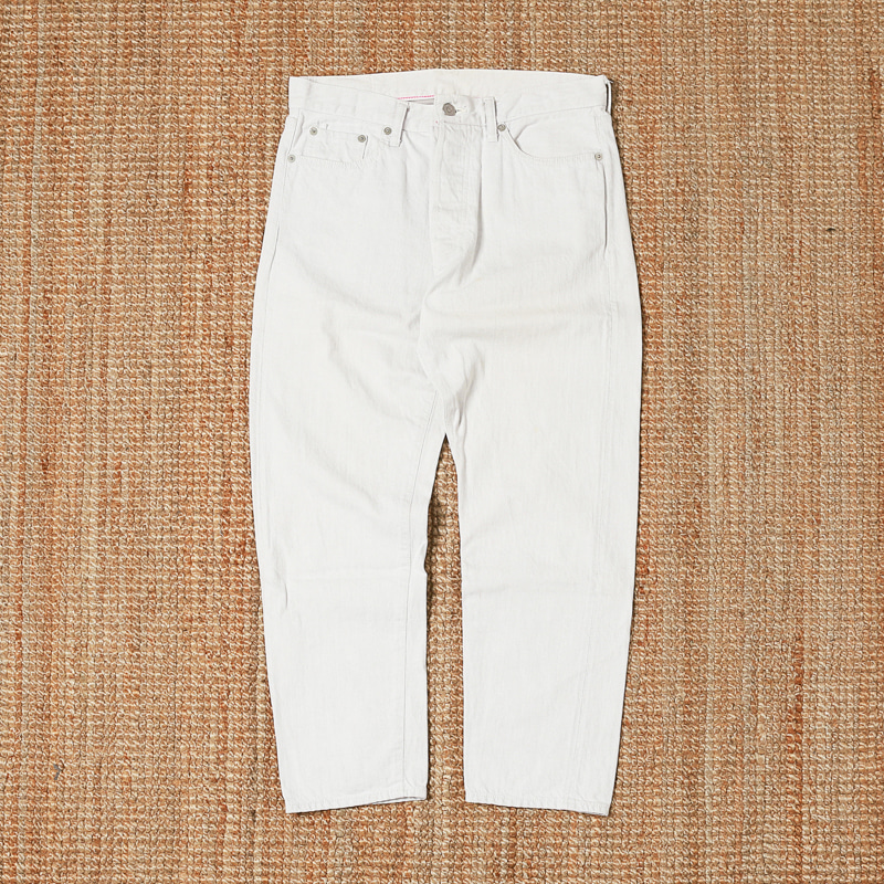 ORDINARY FITS DENIM JEANS - WHITE