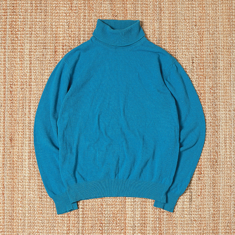 EAST HARBOUR SURPLUS TURTLENECK - TEAL