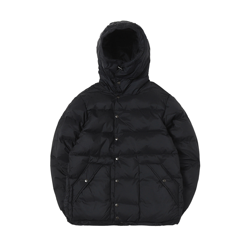 X NANGA CLASSIC PINANACLE DOWN JACKET - BLACK