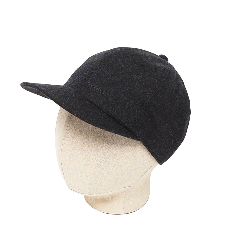TECH WOOL B.B CAP - NAVY