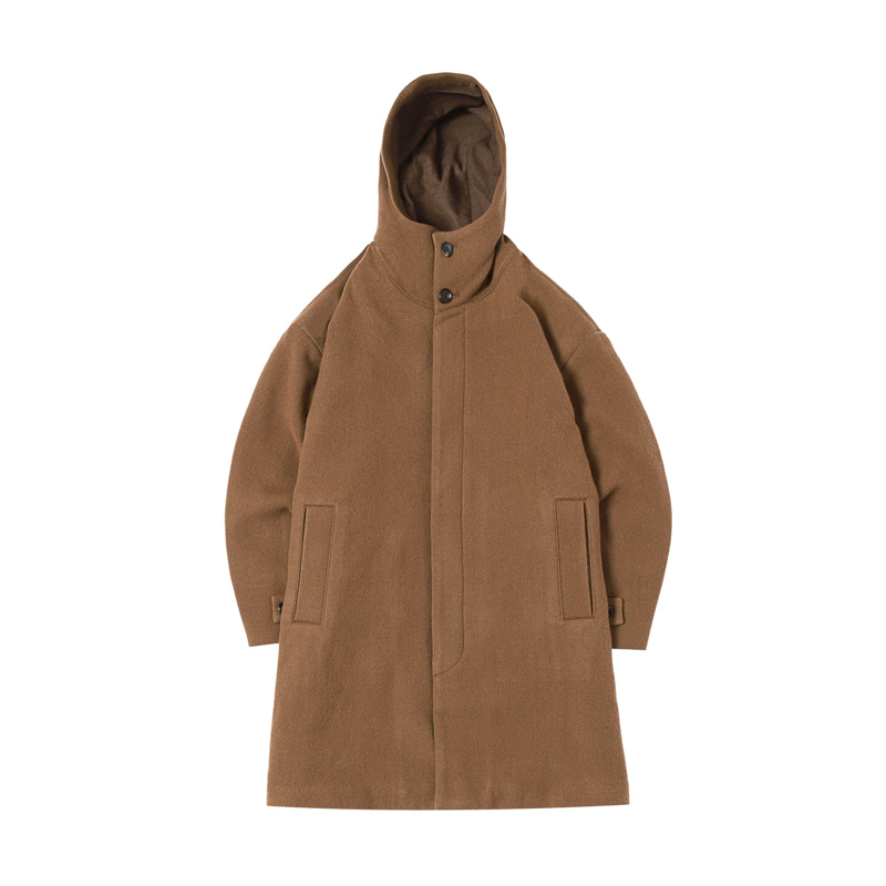 WO/NY COAT - BROWN