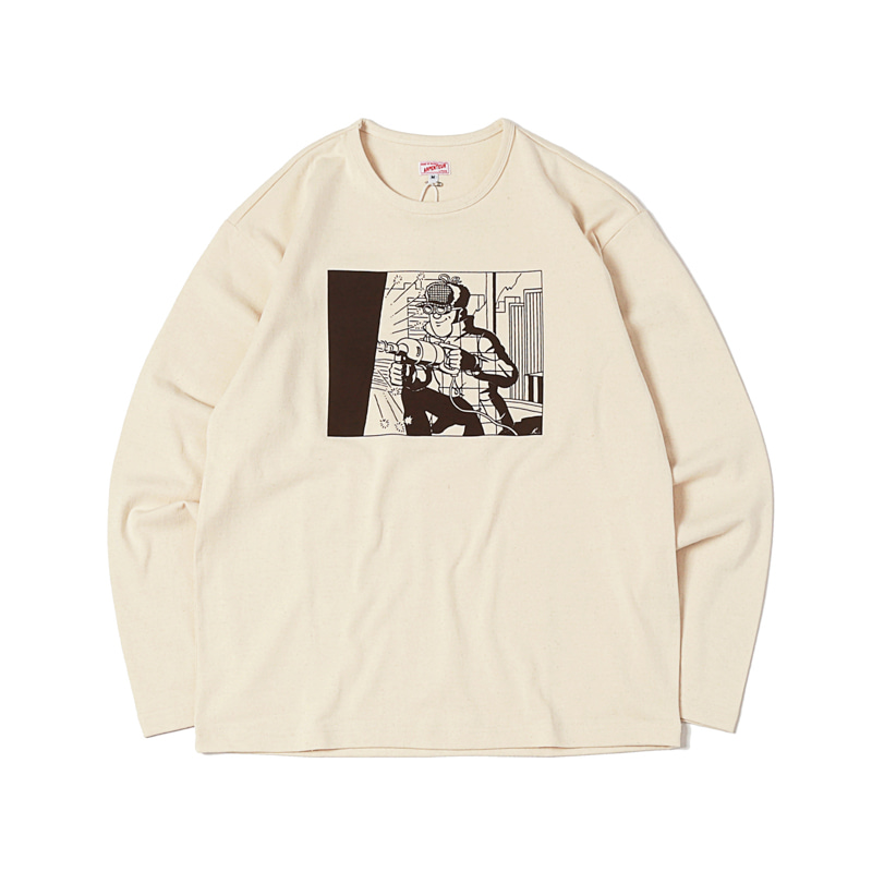 GRAPHIC L/S HEAVY JERSEY - BREAKING