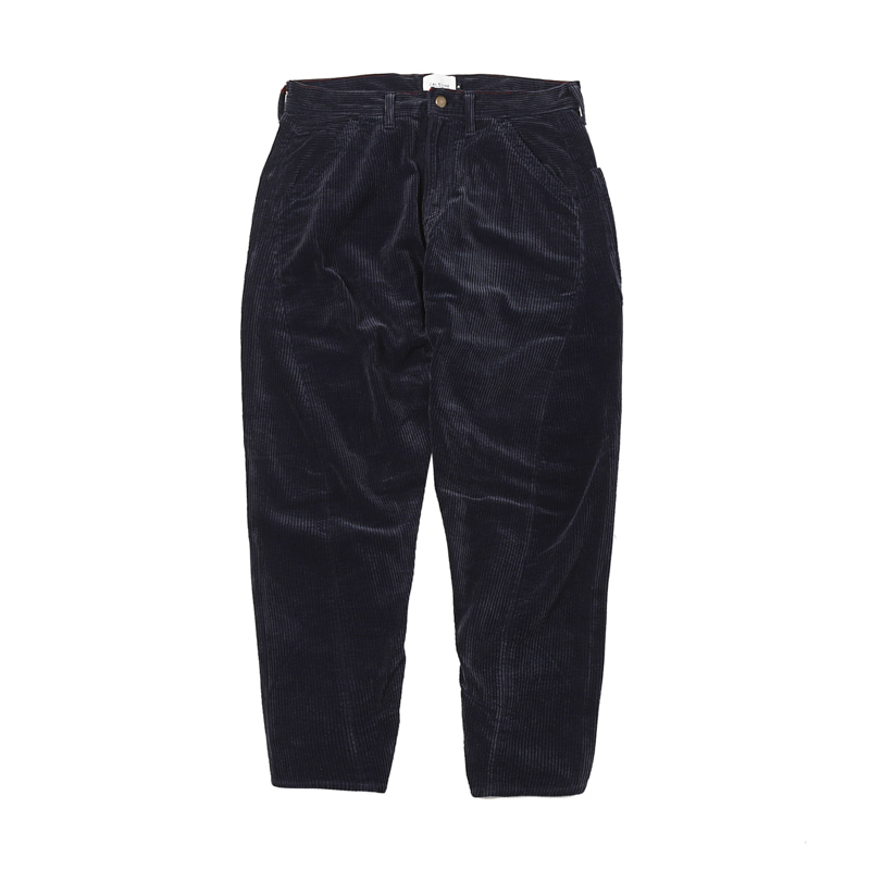 CORDUROY COMFORT PAINTER PANTS - NAVY