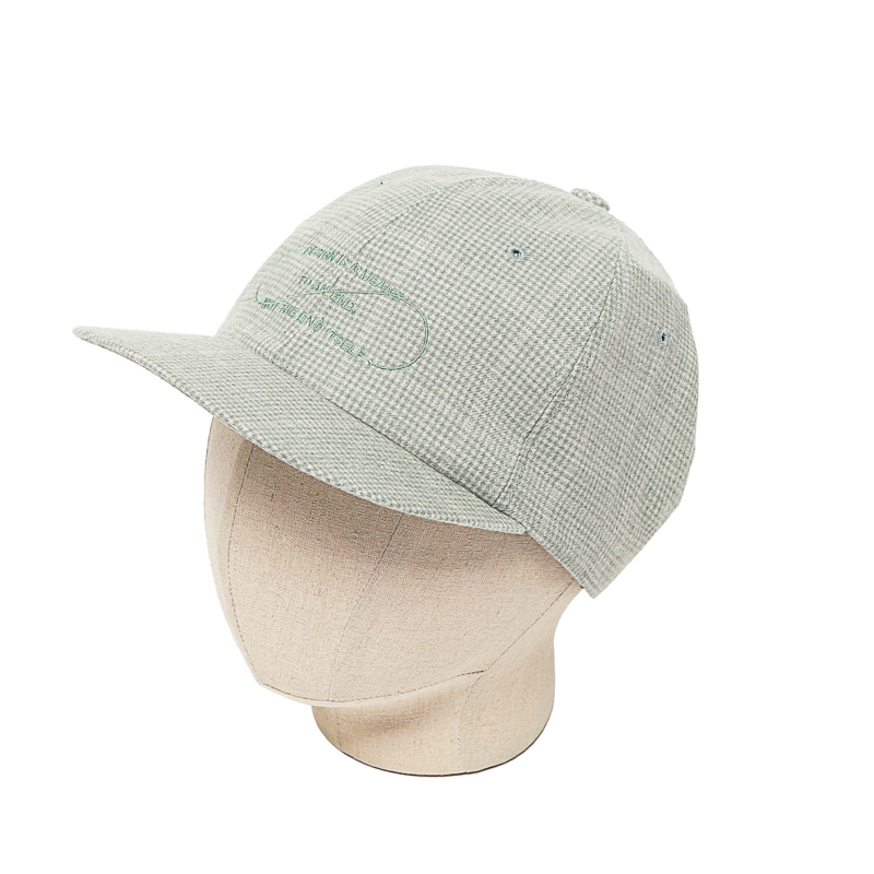 TECH WOOL B.B CAP - PALE GREEN
