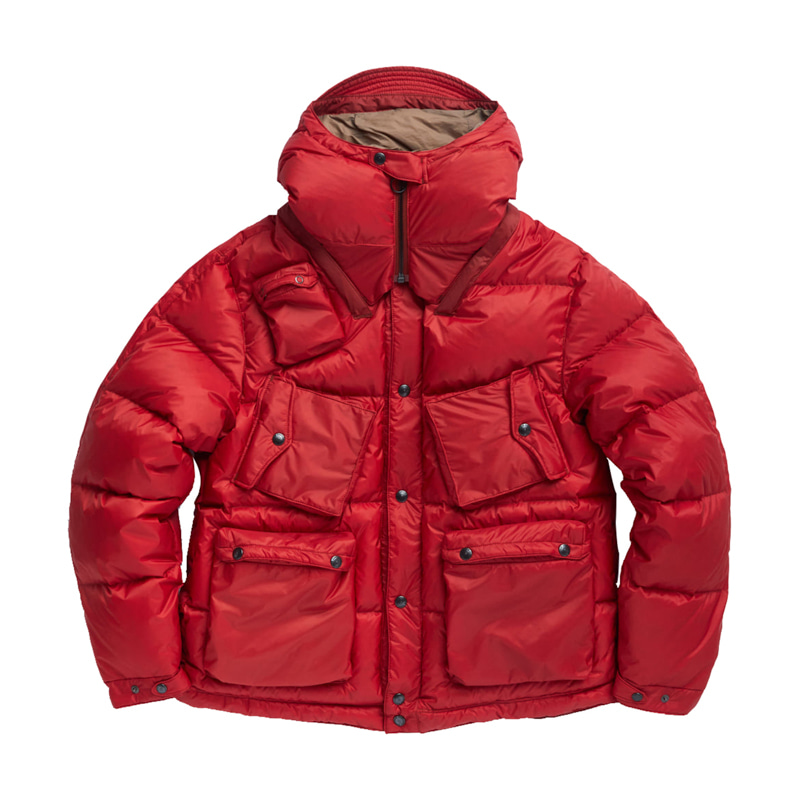 C-1 DOWN PARKA - RED QUANTUM