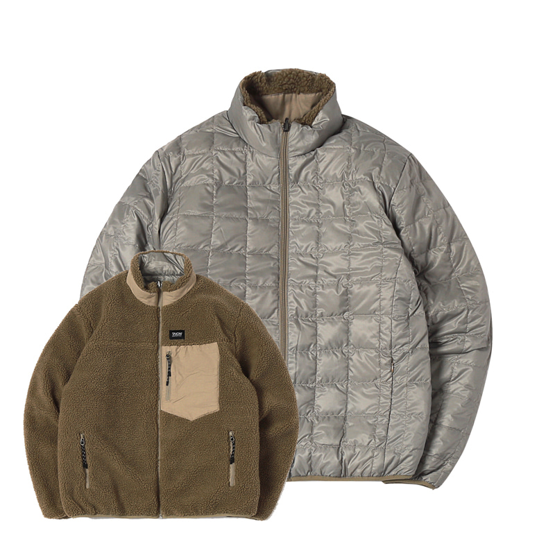 DOWN X BOA REVERSIBLE DOWN JACKET - KHAKI