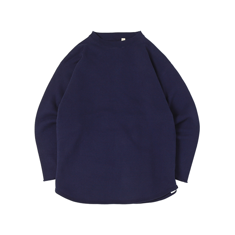 CUT OFF SWEATSHIRTS - NAVY (BR-8021)