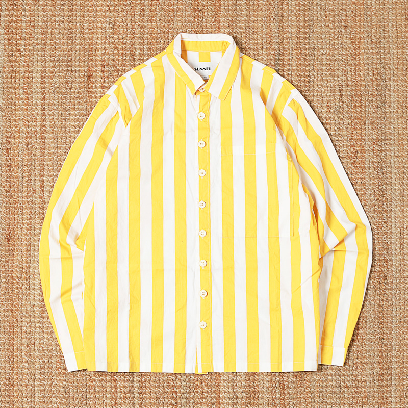 SUNNEI STRIPED SHIRTS - YELLOW