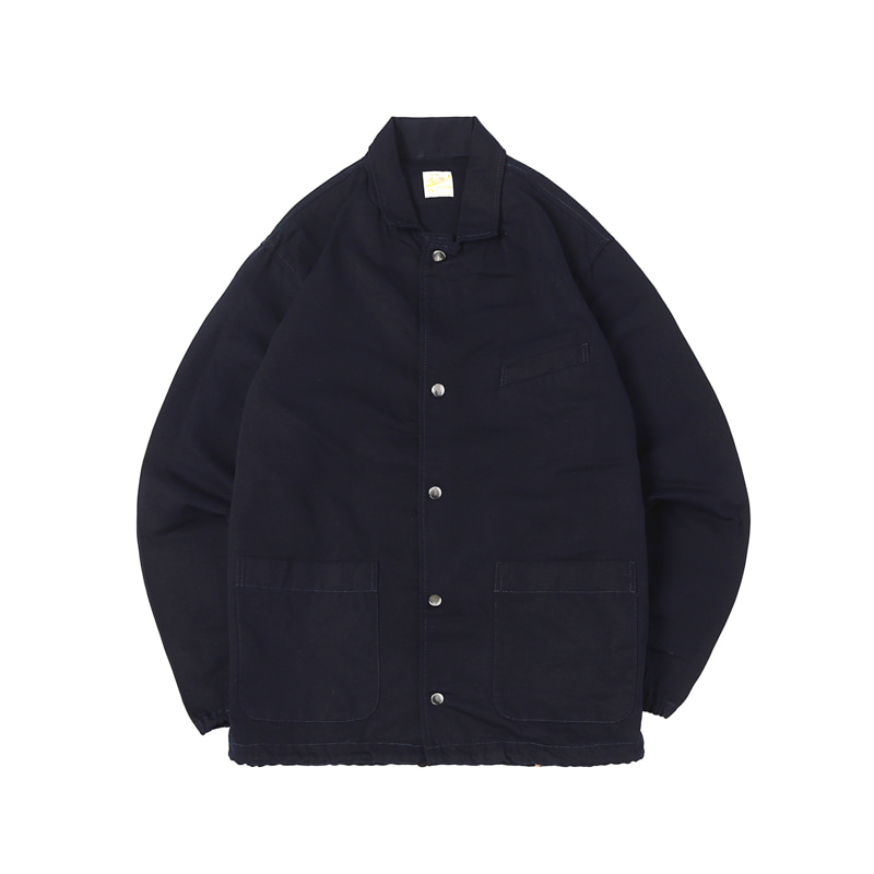 COACH-WORK JACKET - NAVY (BR-8043)