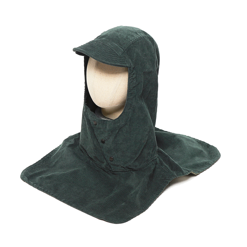 PULLOVER ATTACHED HOOD - GREEN