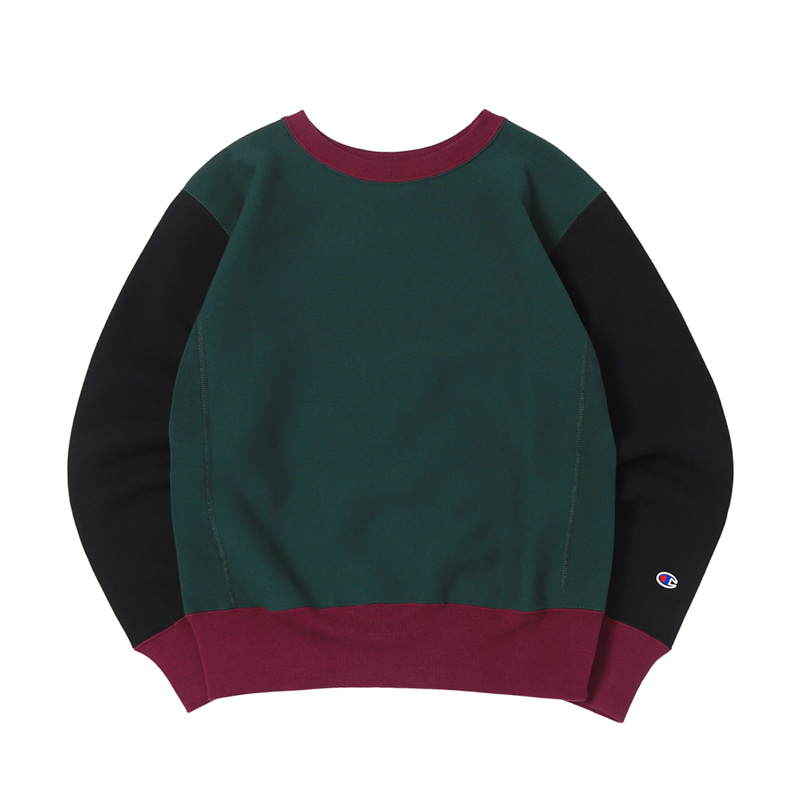 11.5 OZ BLUETAG CREWNECK SWEATSHIRTS - DARK GREEN