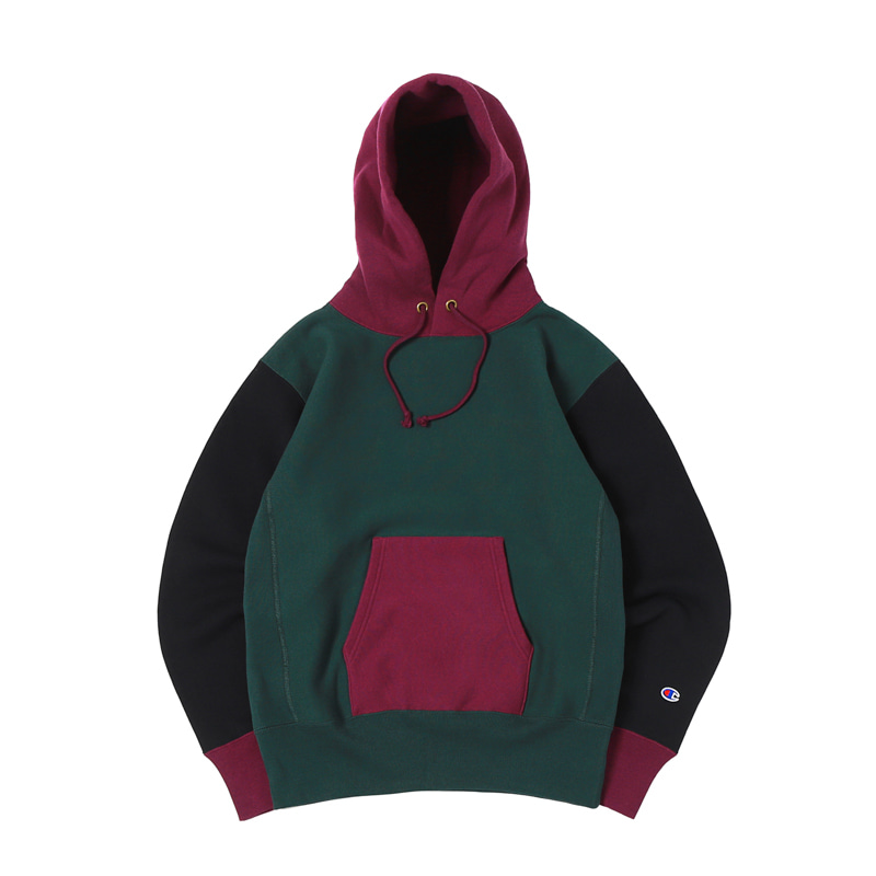 11.5 OZ BLUETAG PULLOVER HOODED - DARK GREEN
