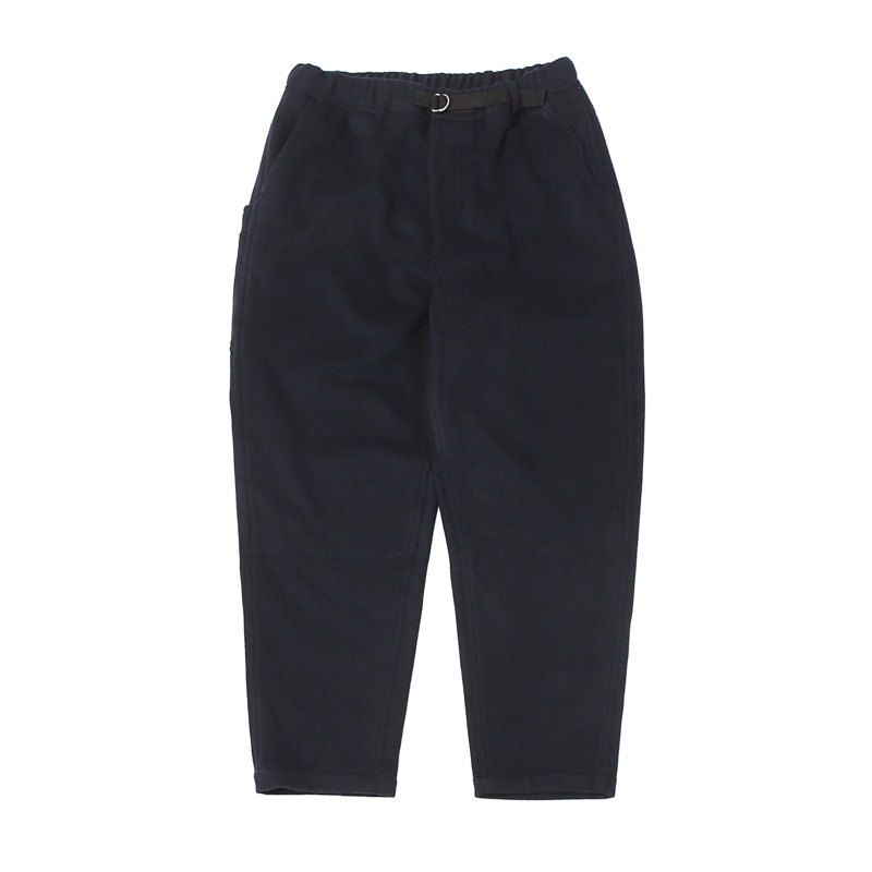SOFT MELTON DOUBLE KNEE EASY PANTS - NAVY