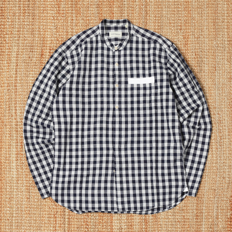 OLIVE SPENCER CHECK SHIRTS