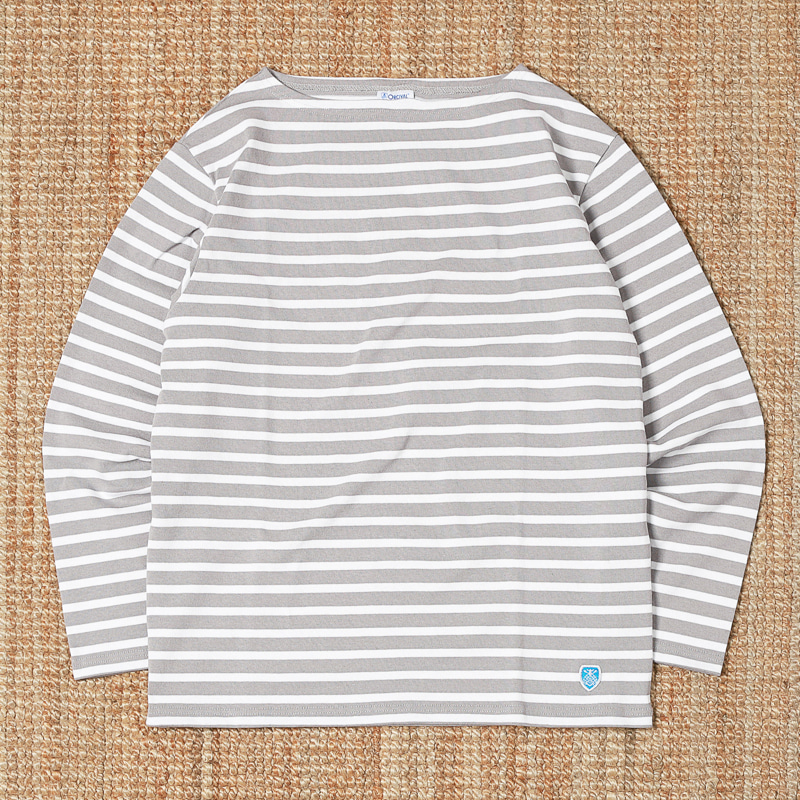 ORCIVAL STRIPED T SHIRTS - LIGHT GREY