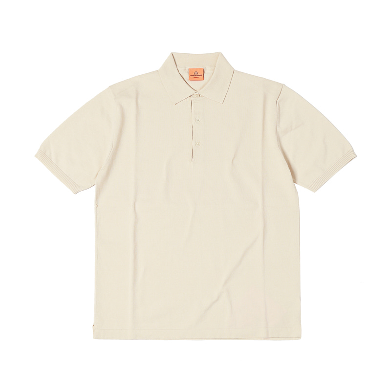 SHORT POLO SHIRT - RAW COTTON