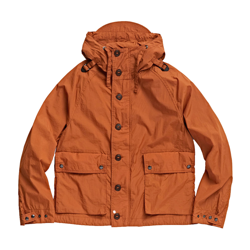 FOUL WEATHER PARKA - ORANGE NYLON WASHER
