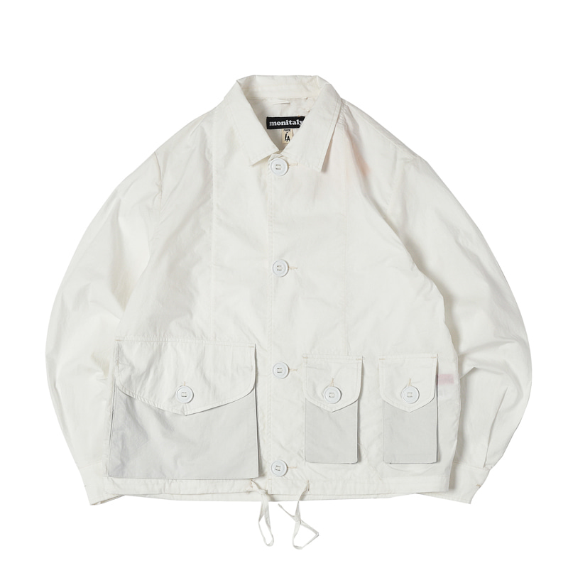 MILITARY SERVICE TYPE A JACKET - VANCLOTH OXFORD WHITE