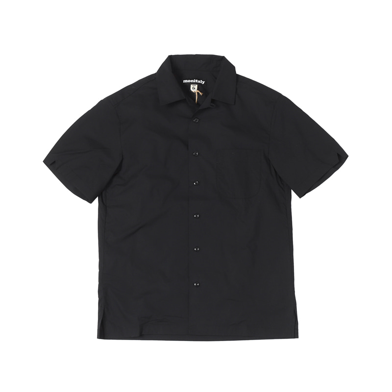 WEEKEND SHIRTS - LT POPLIN BLACK
