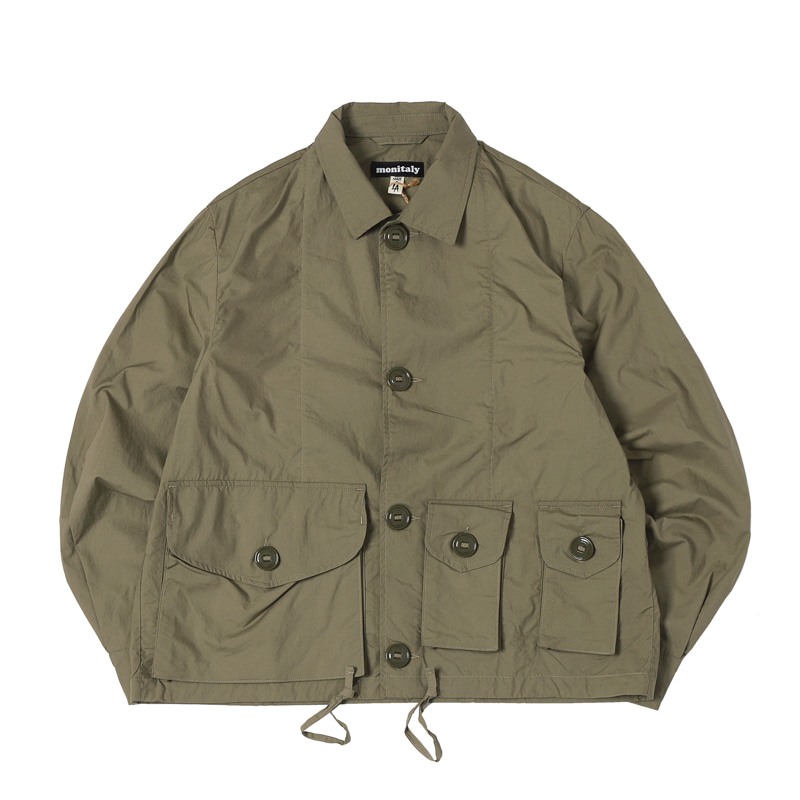 MILITARY SERVICE TYPE A JACKET - VANCLOTH OXFORD SAGE