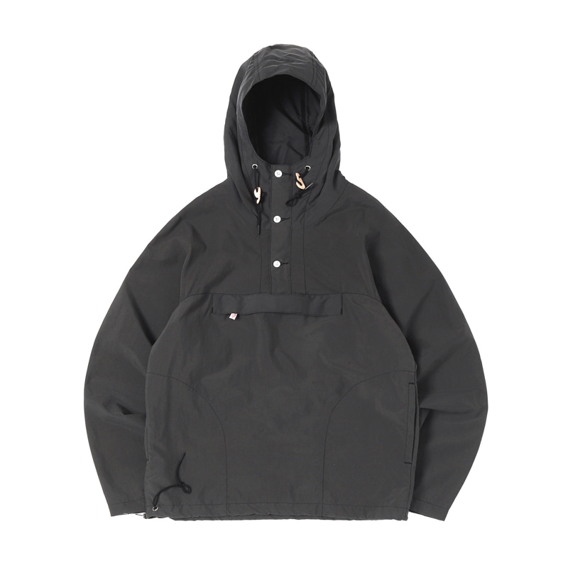PACKABLE ANORAK - BLACK