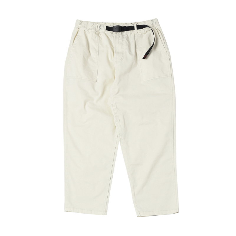 LOOSE TAPERED PANTS - NATURAL