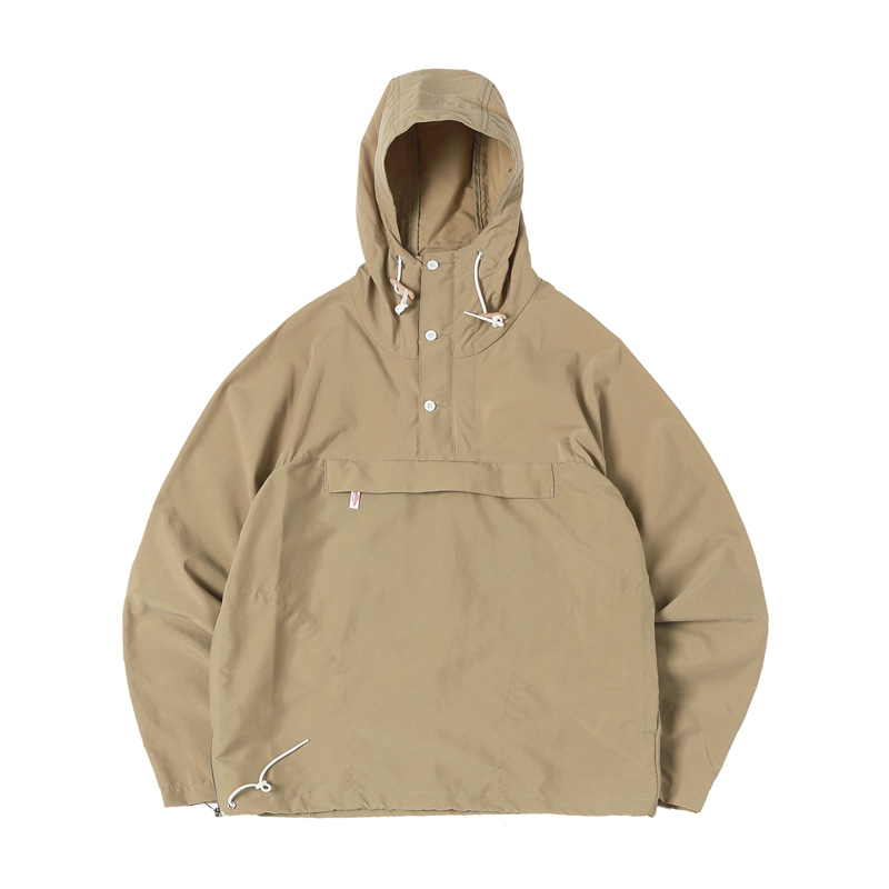 PACKABLE ANORAK - TAN