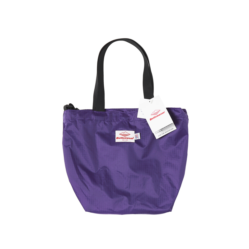 PACKABLE MINI TOTE BAG - PURPLE