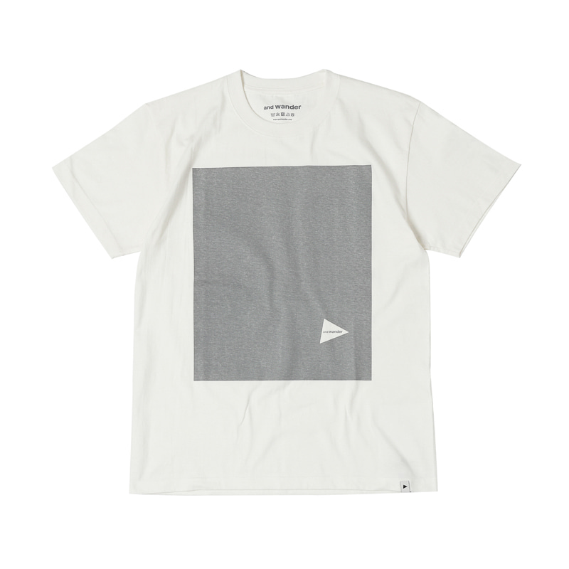 PRINTED T REFLECTIVE - WHITE
