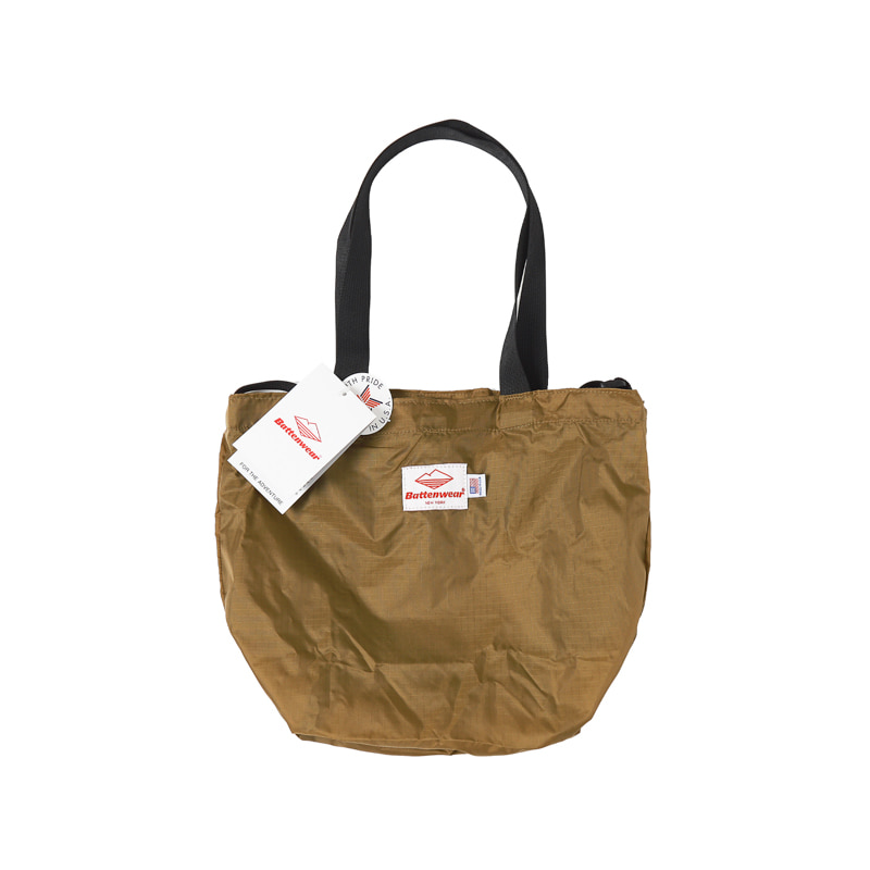 PACKABLE MINI TOTE BAG - TAN