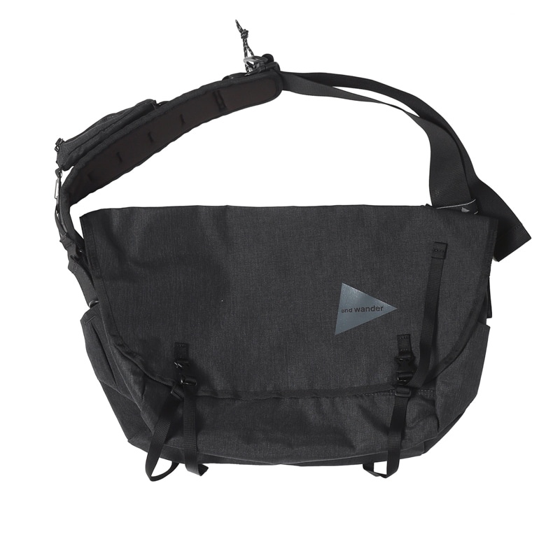 HEATHER MESSENGER BAG - CHARCOAL