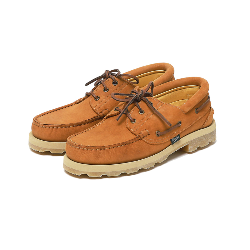 X PARABOOT SAFARI BRIAC SHOES NUBUCK LEATHER - TAN