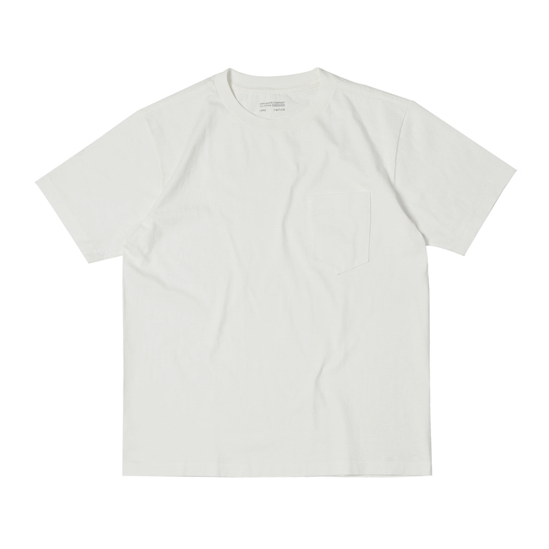 BALTA POCKET T-SHIRT - WHITE