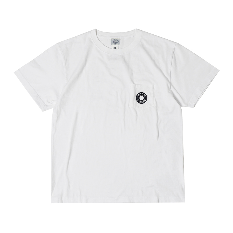 DONUT POCKET TEE - WHITE