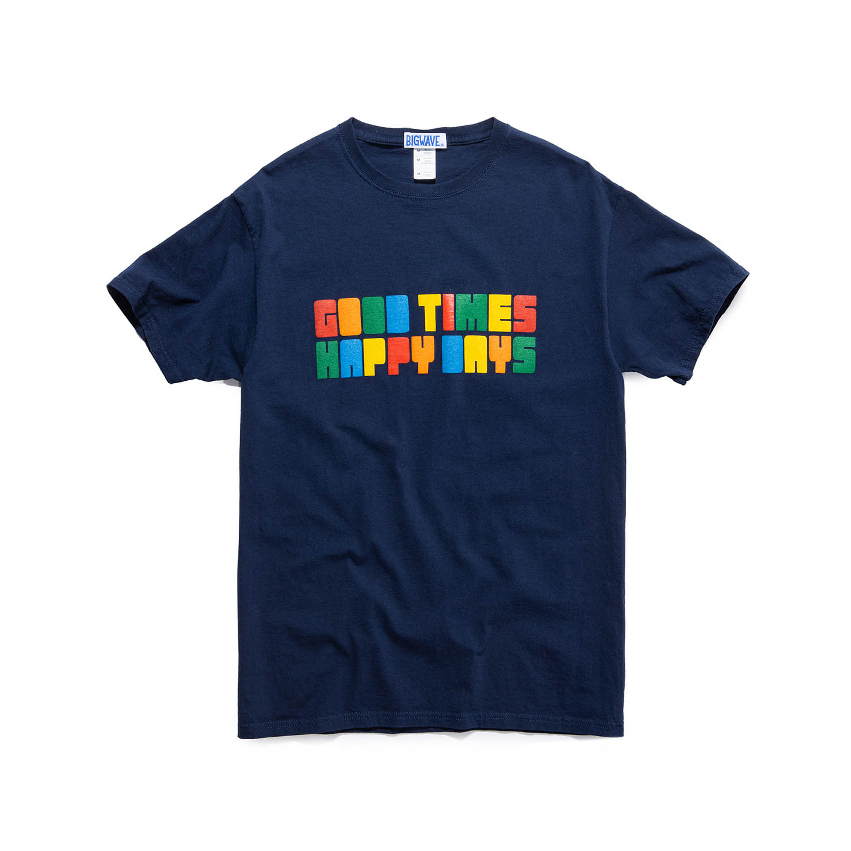 GOOD TIMES TEE - DARK NAVY