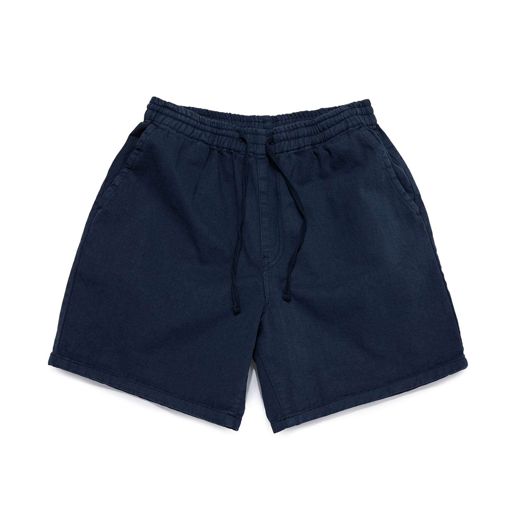 SULFUR DYE EASY SHORTS - WASHED NAVY