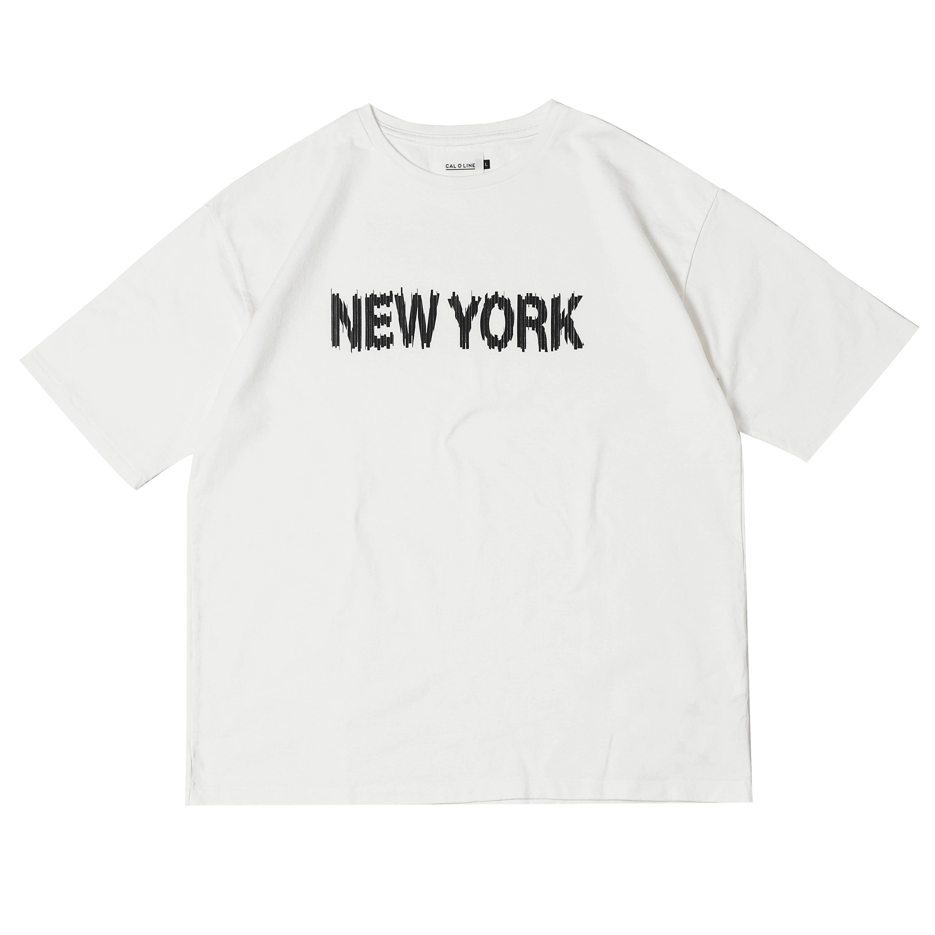 NEW YORK S/S TEE - WHITE