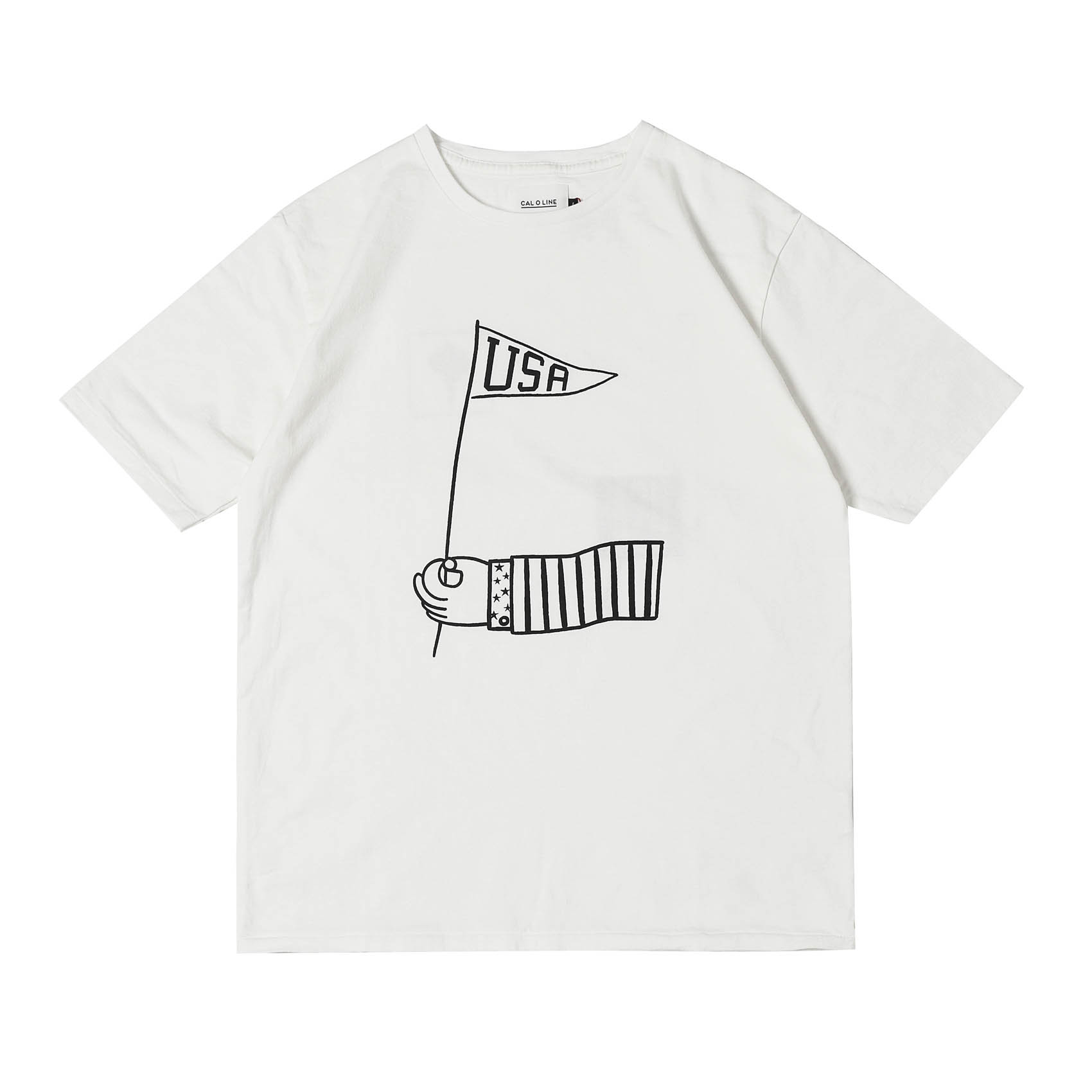 GO USA T-SHIRTS - WHITE