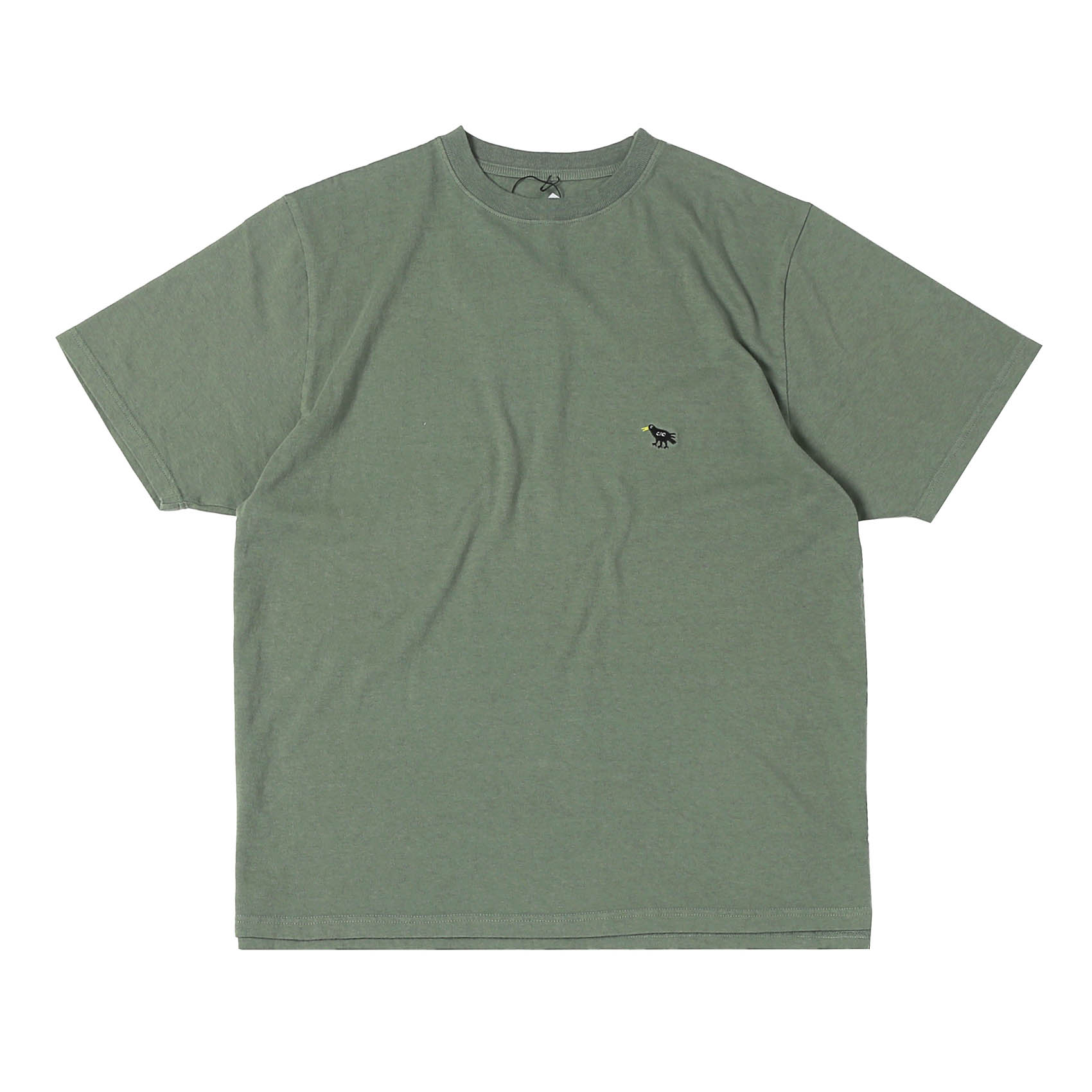 EMBROIDERY CRO TEE - SEA GREEN