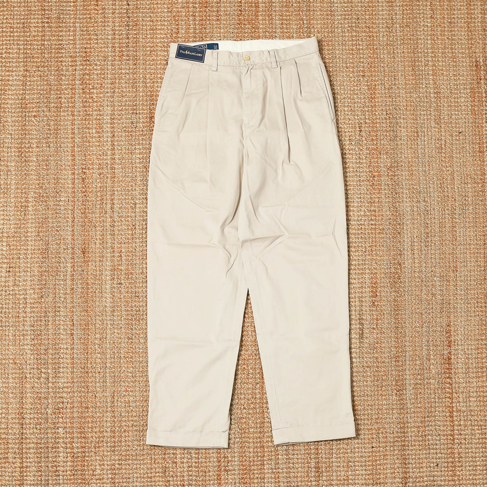 POLO RALPH LAUREN TWO-TUCK CHINO - BEIGE