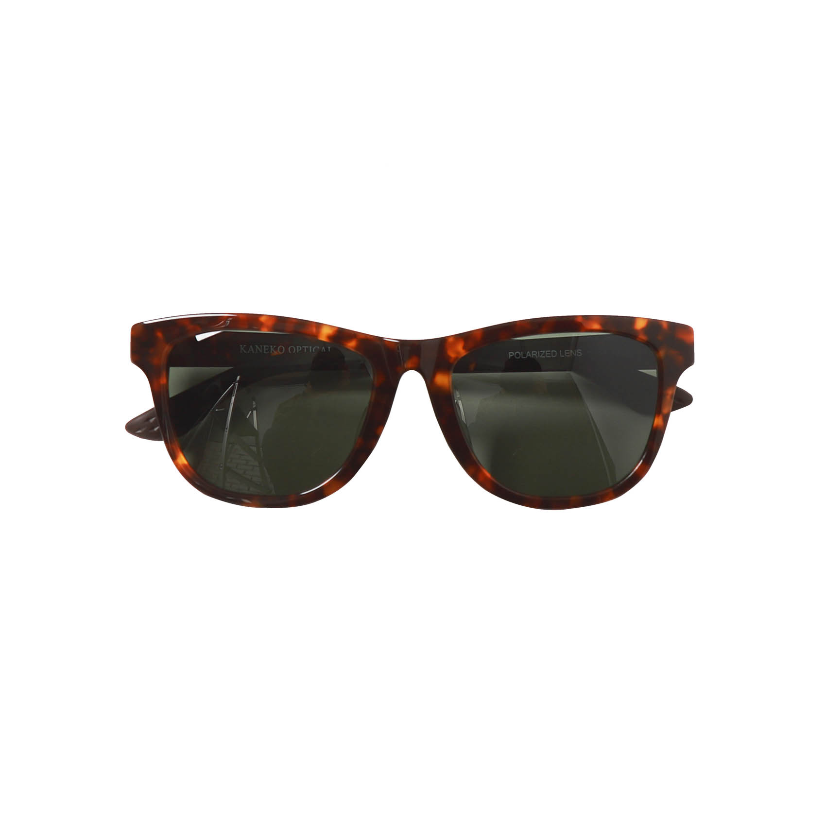 X KANEKO OPTICAL SUNGLASSES T6 - BROWN
