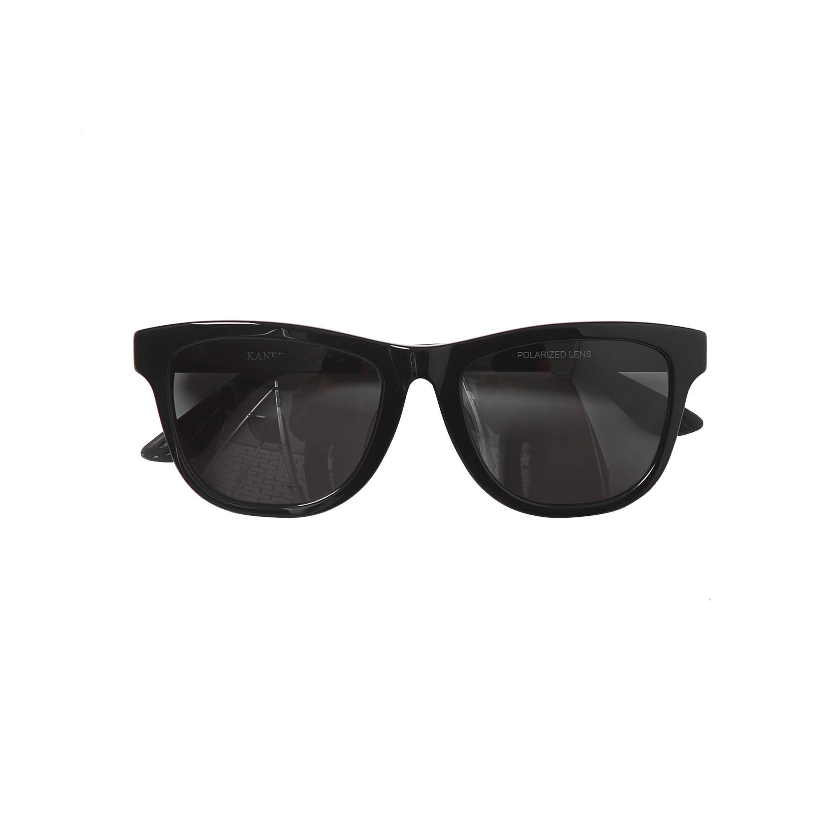 X KANEKO OPTICAL SUNGLASSES T6 - BLACK