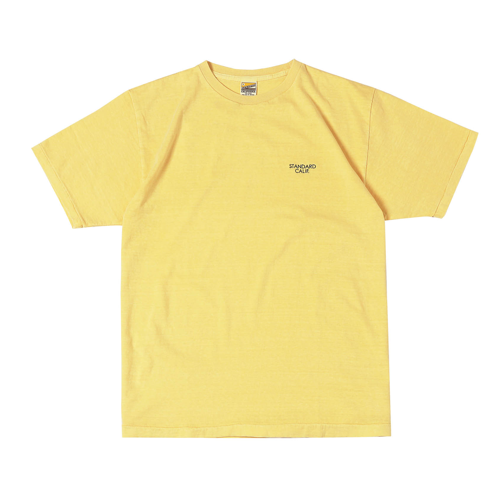 SMALL LOGO TEE - YELLOW