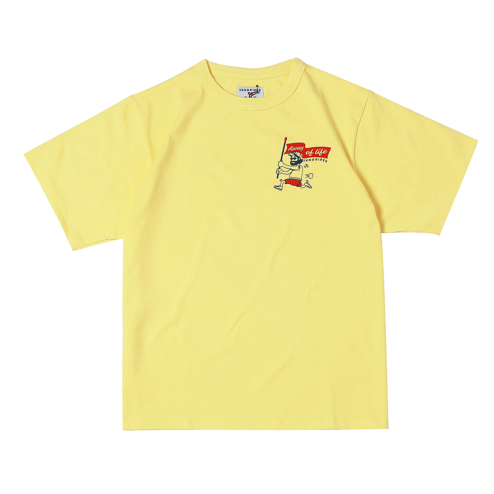 UNCLE RUN TEE - YELLOW