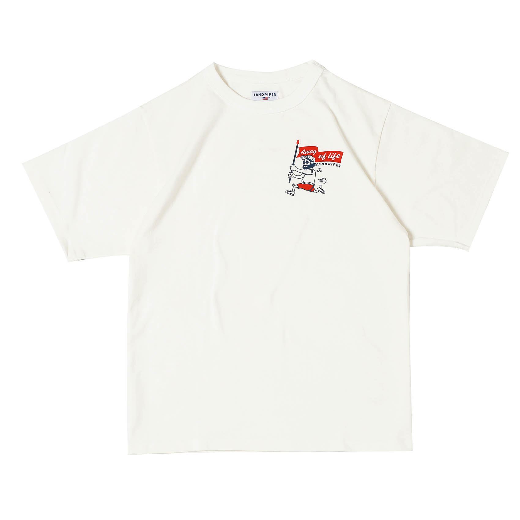 UNCLE RUN TEE - WHITE