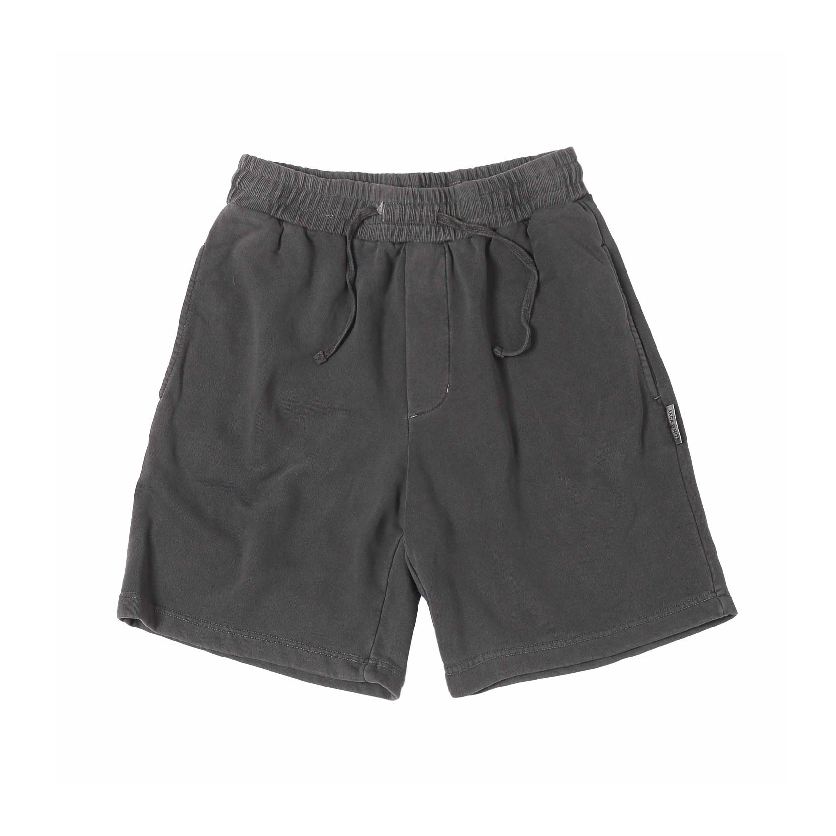 FINEST COTTON SHORTS - WASHED CHARCOAL