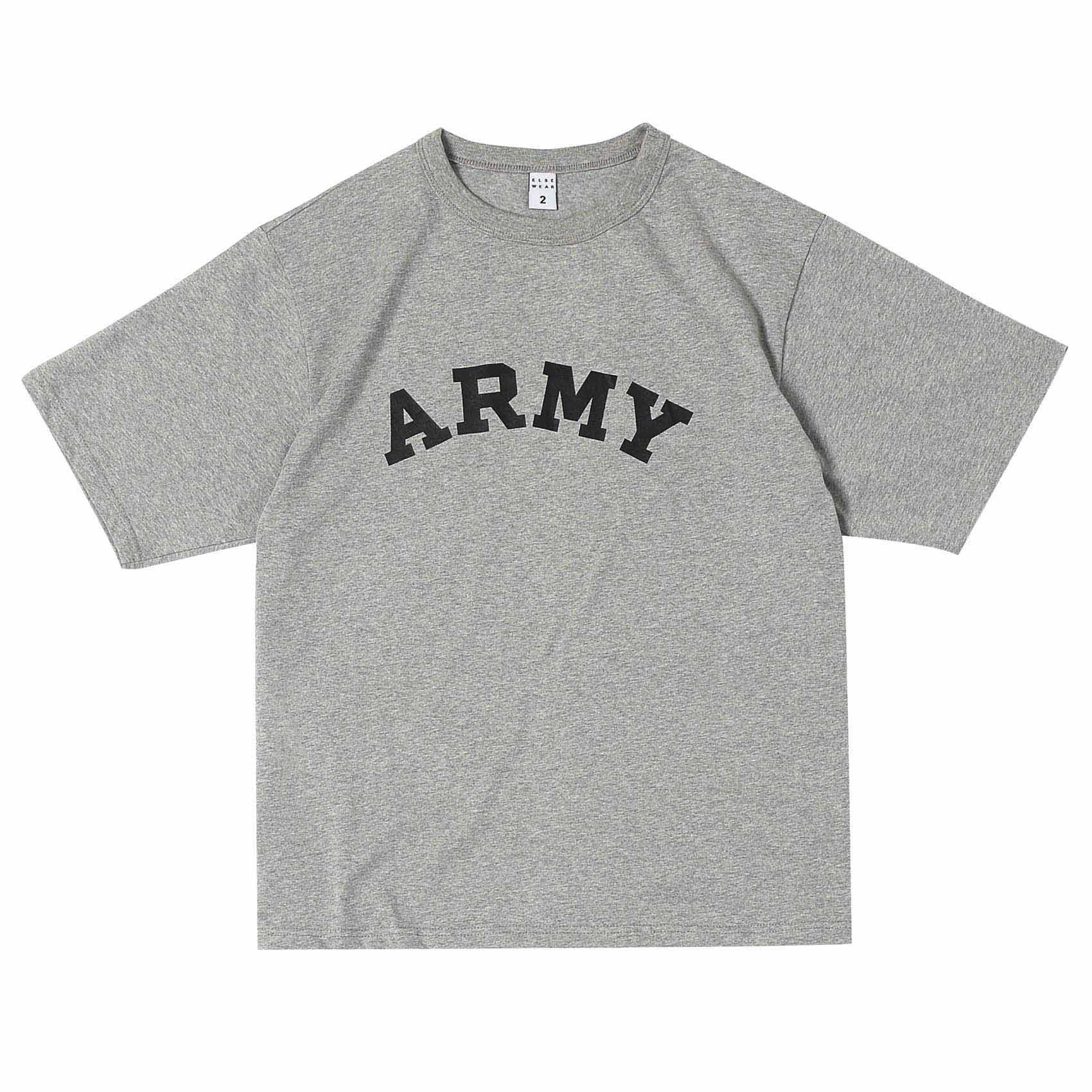 SS PRINTED TEE - ARMY