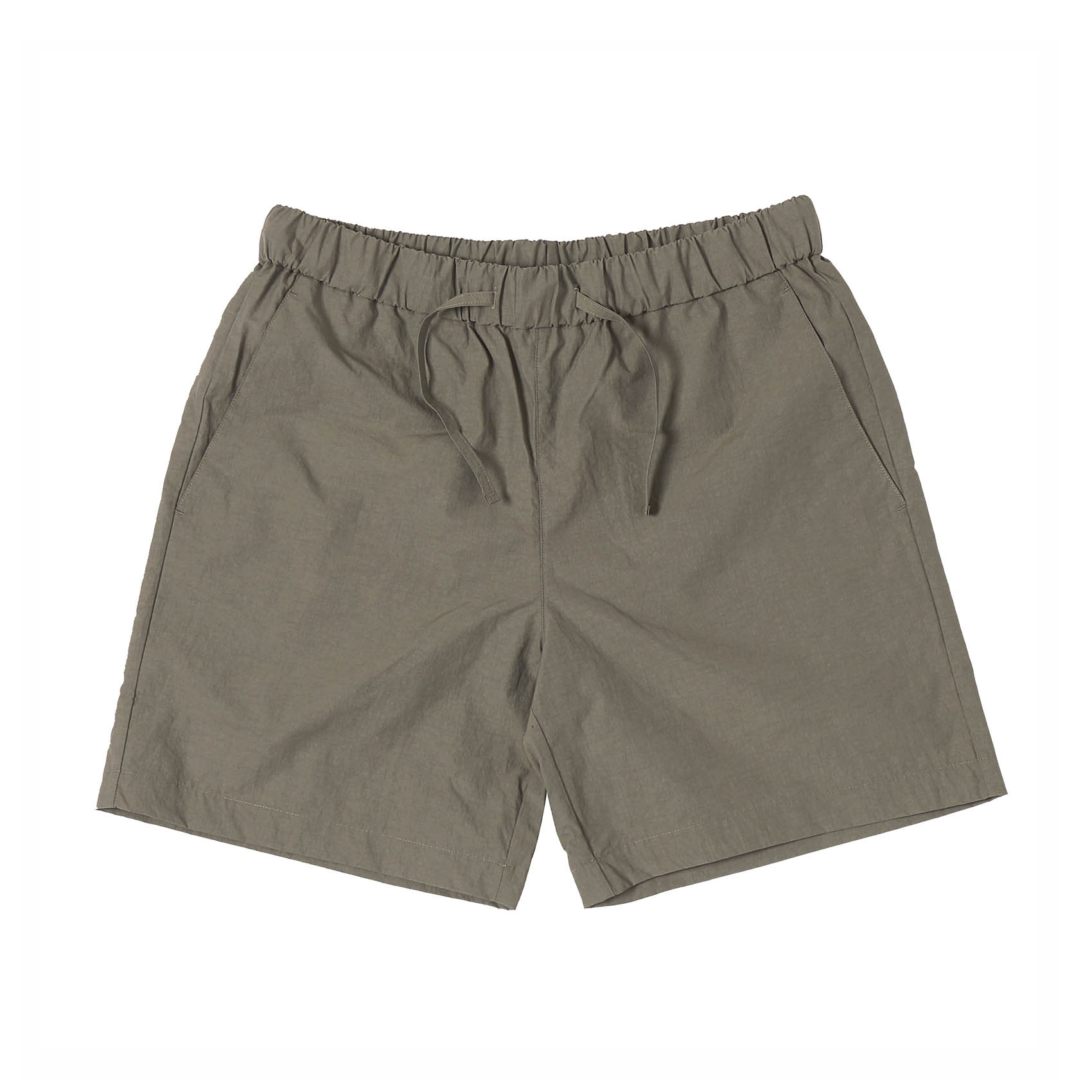 SUMMER ESSENTIAL SHORTS - CHARCOAL BROWN